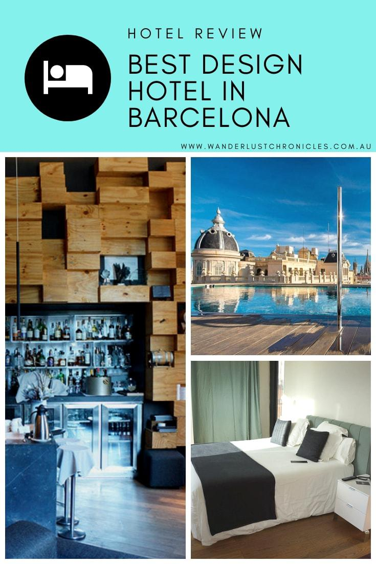 The best design hotel in Barcelona, Spain. Ohla is a beautiful design hotel in Europe
