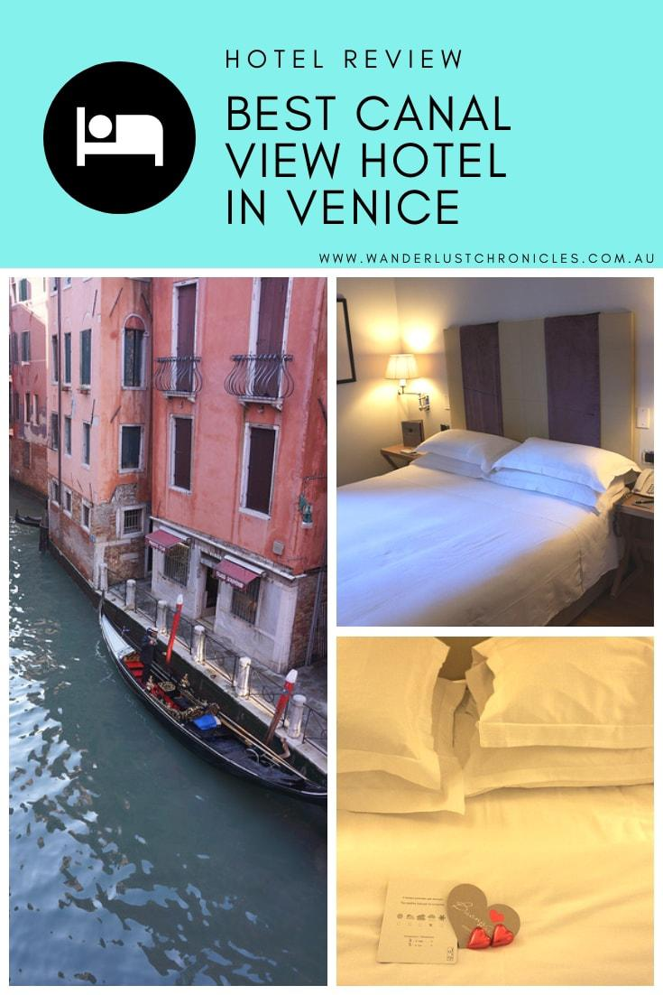 Starhotels Splendid Venice is the best hotel in Venice with canal views. The best hotel in Venezia Italy with Venice Canal views