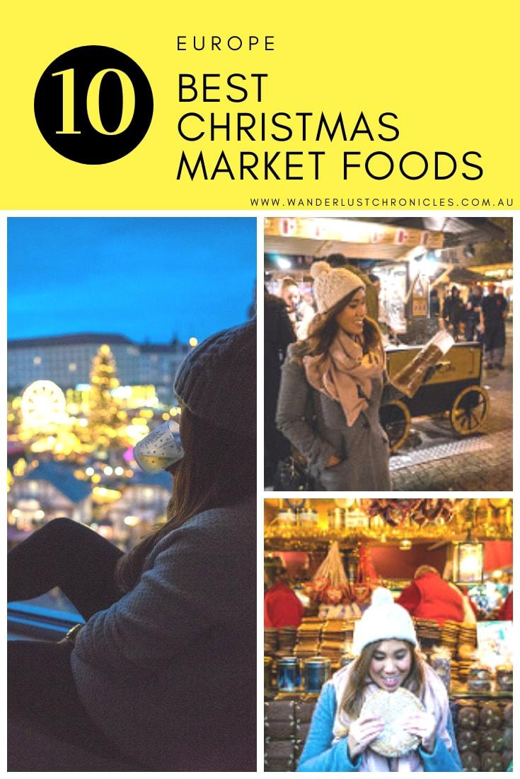10 Must Try Christmas Christkindl Market Food to try Christmas Market in Germany Austria Hungary