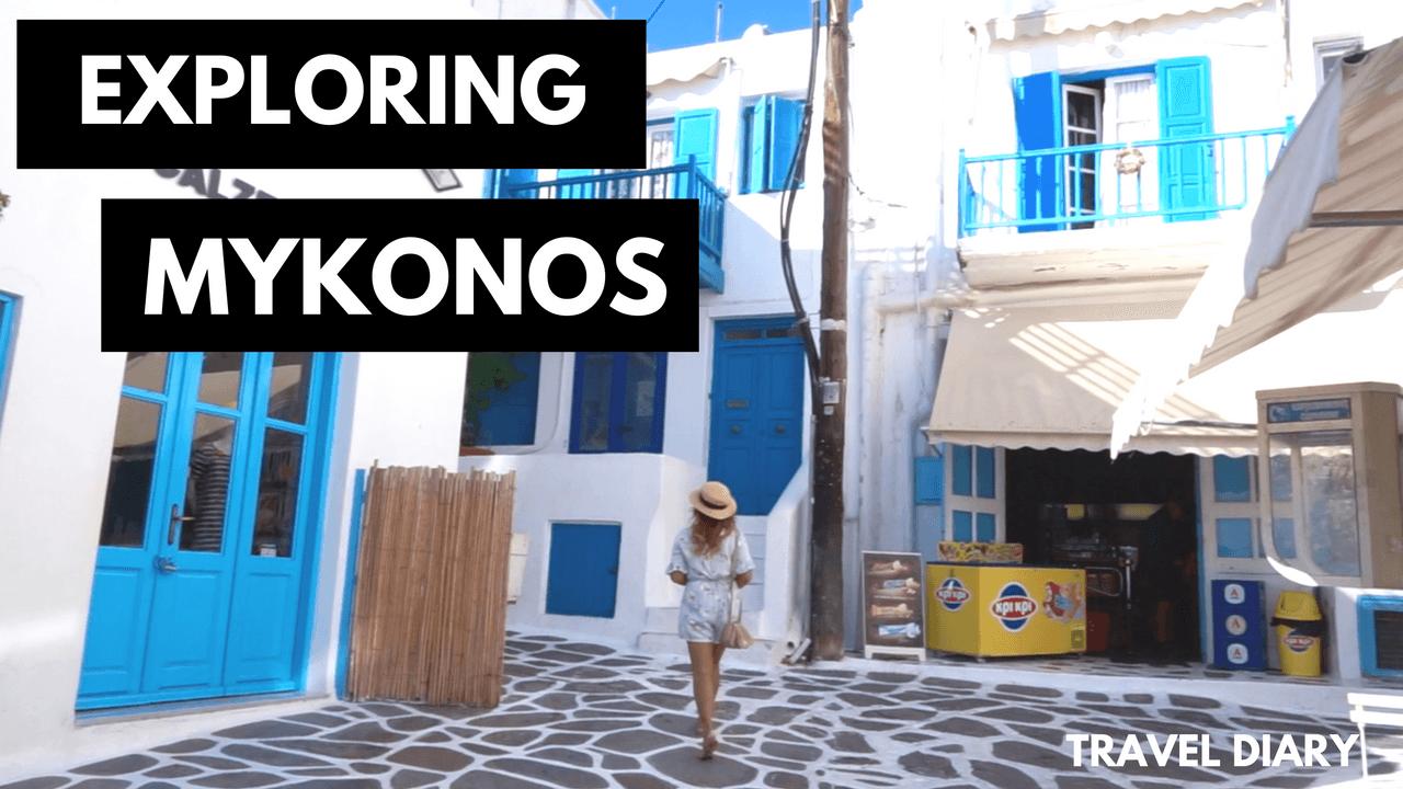 Mykonos Greece Video