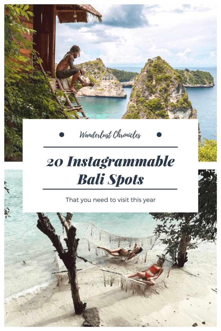 20 Instagrammable Places To Visit In Bali Instaworthy