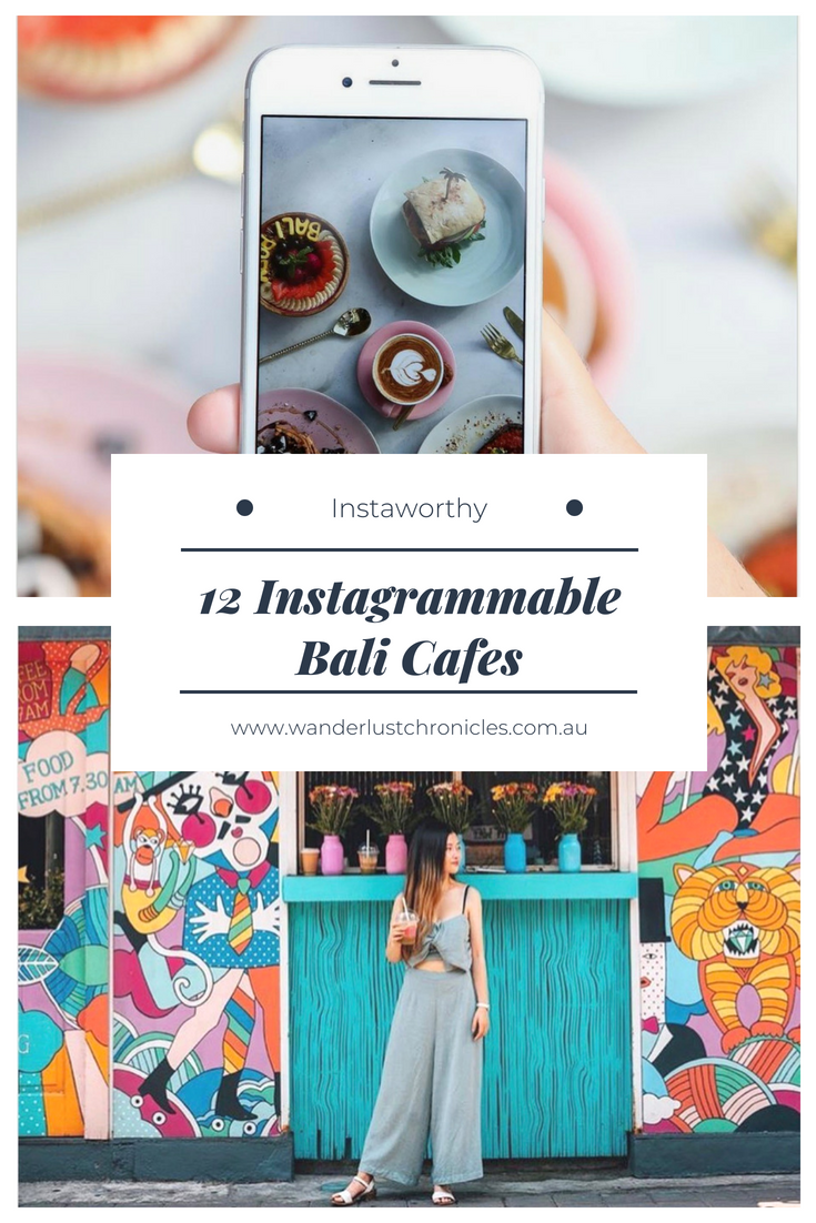 Instagrammable Bali Cafes